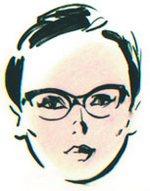 Szemüveg kerek archoz