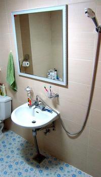 Koreai fürdőszoba