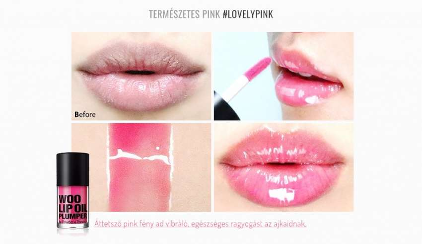 So Natural Woo ajakfeltöltő Lovely Pink